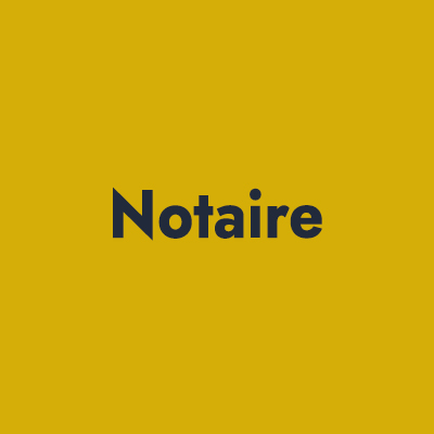 6-------Notaire