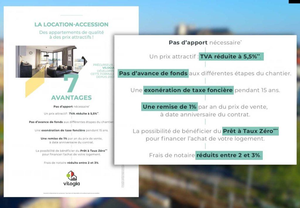 La location accession - immobilier - liste des avantages PSLA
