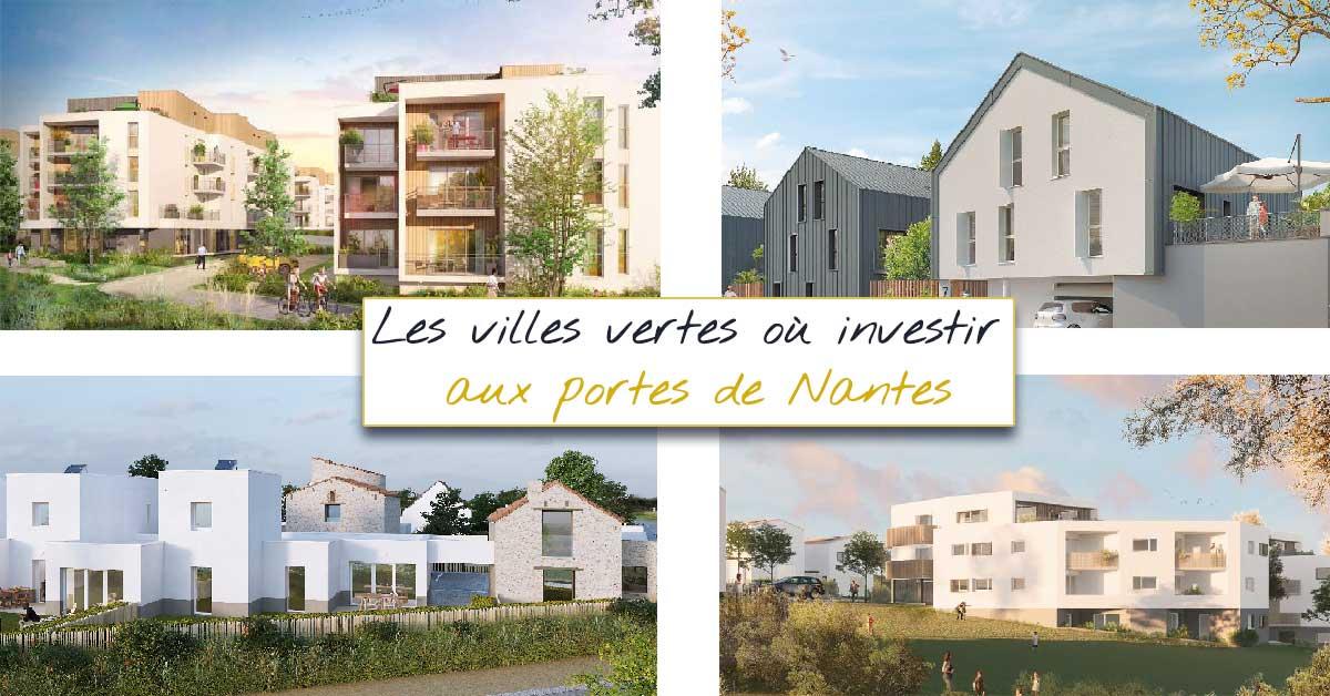 Ville verte où investir en immobilier à proximité de Nantes
