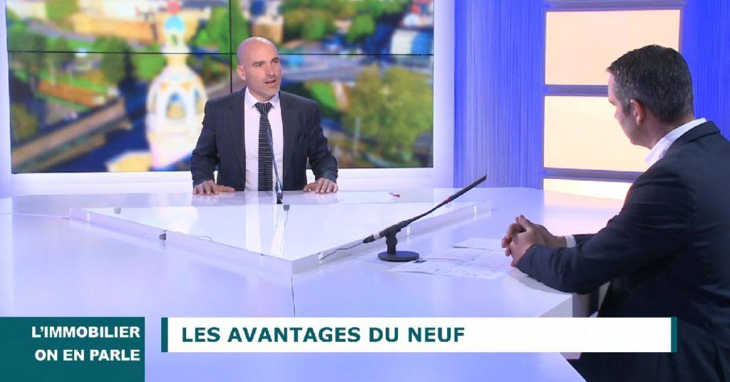 Emission Immobilier - Nantes - Avantages bien neuf avec Primalys